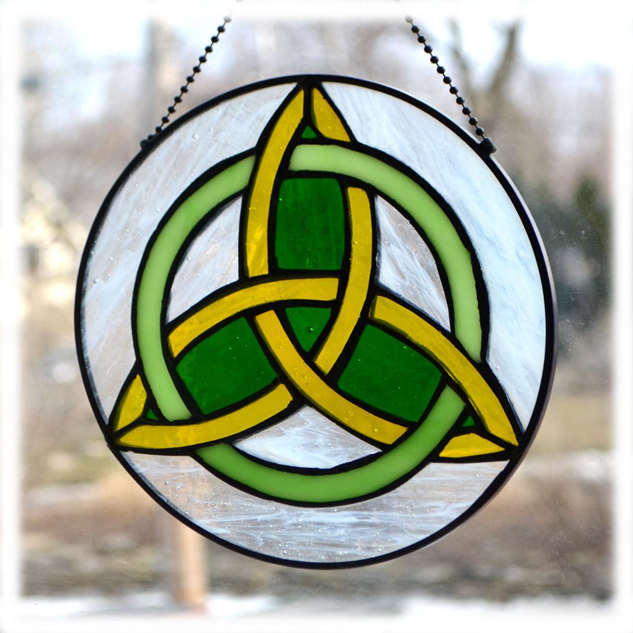 Celtic Trinity Knot Suncatcher