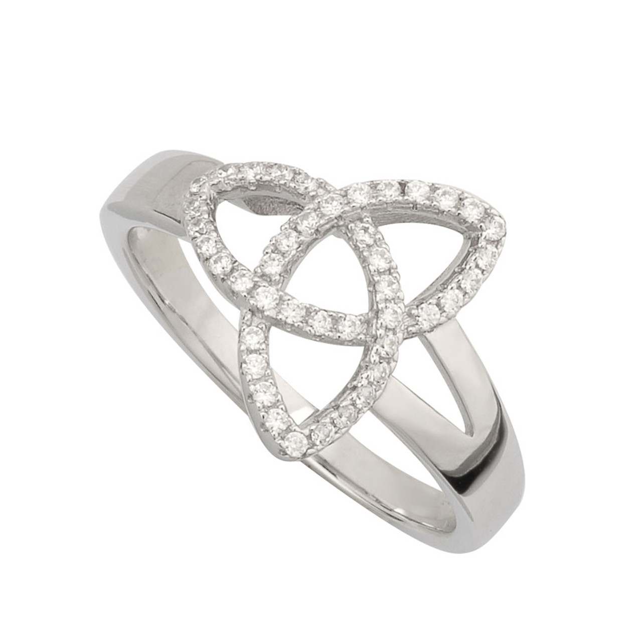 Iirsh Celtic Trinity Knot Ring