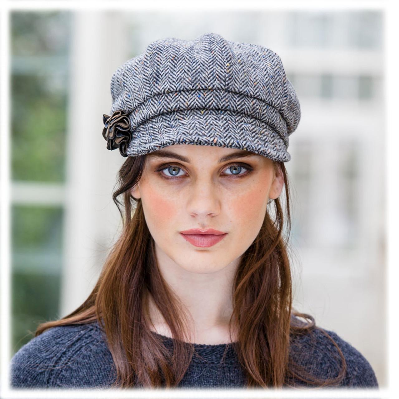 Irish-made Newsboy Cap for Women