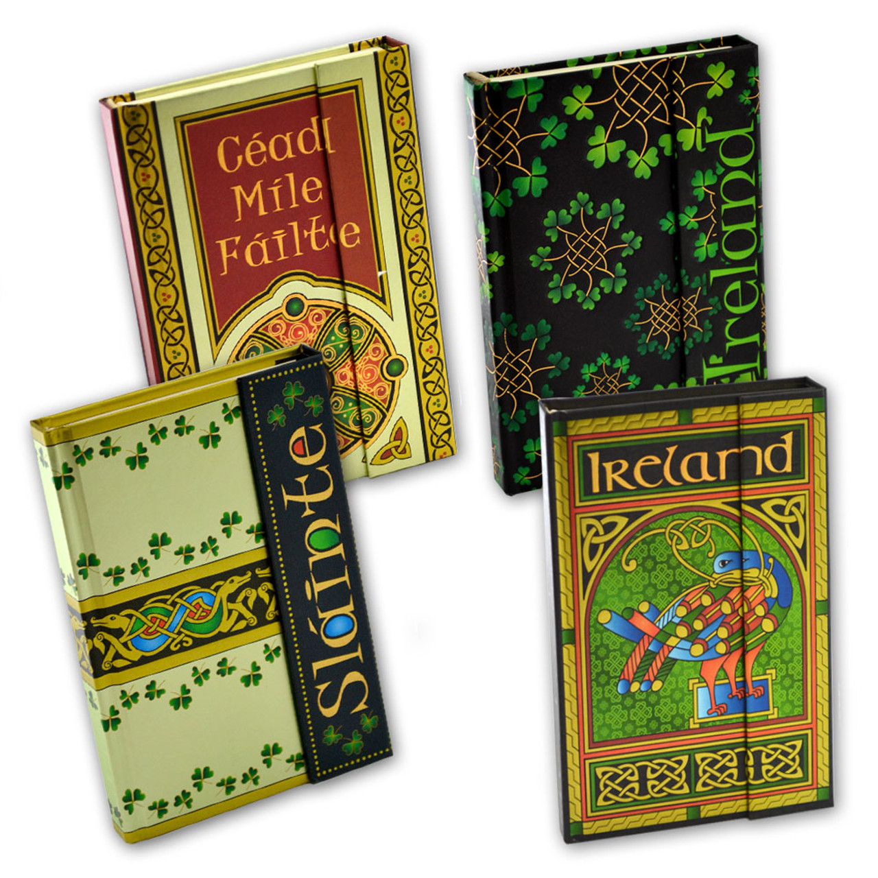 Magnetic Celtic Notebooks in 4 Designs
