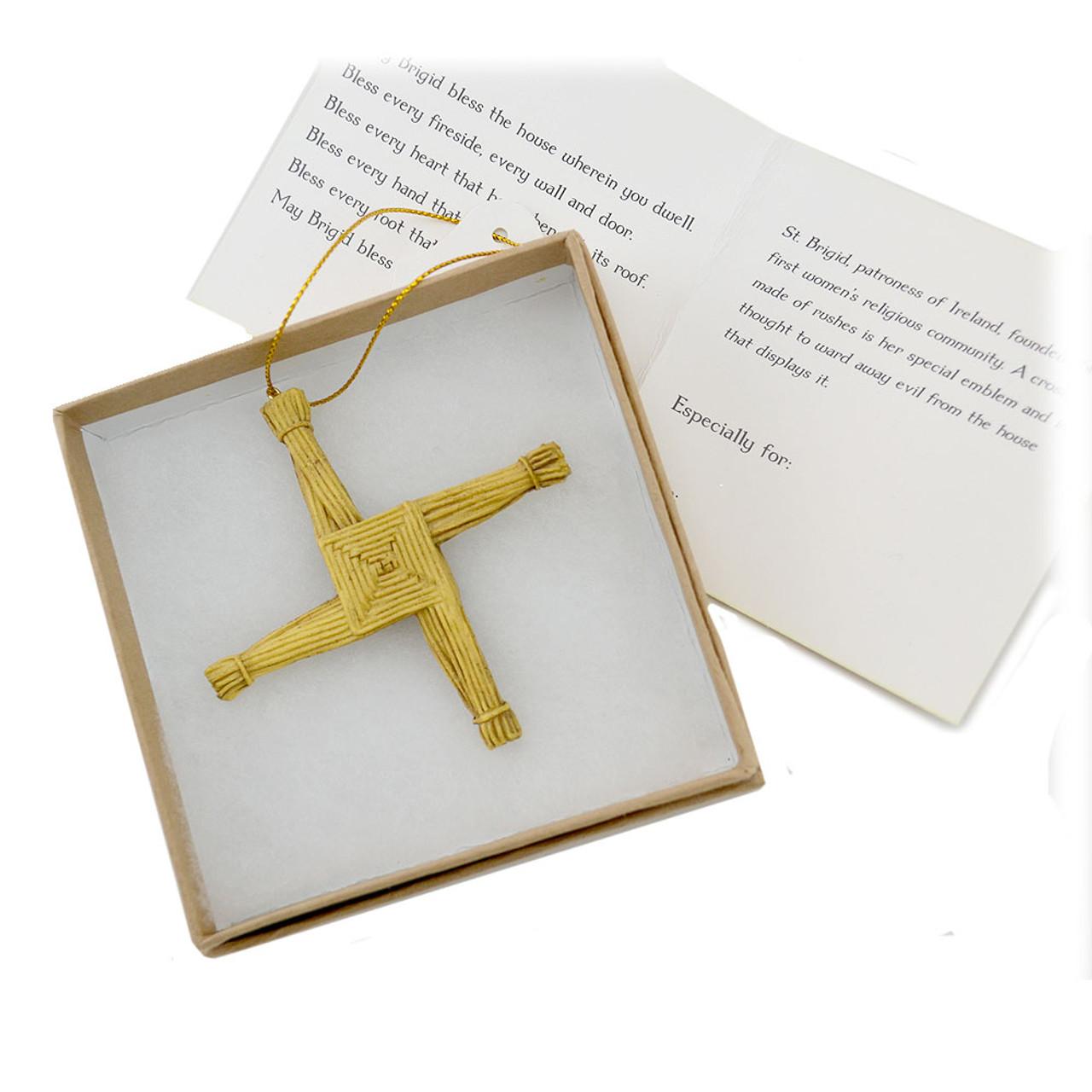 Ornament of St. Brigid's Cross
