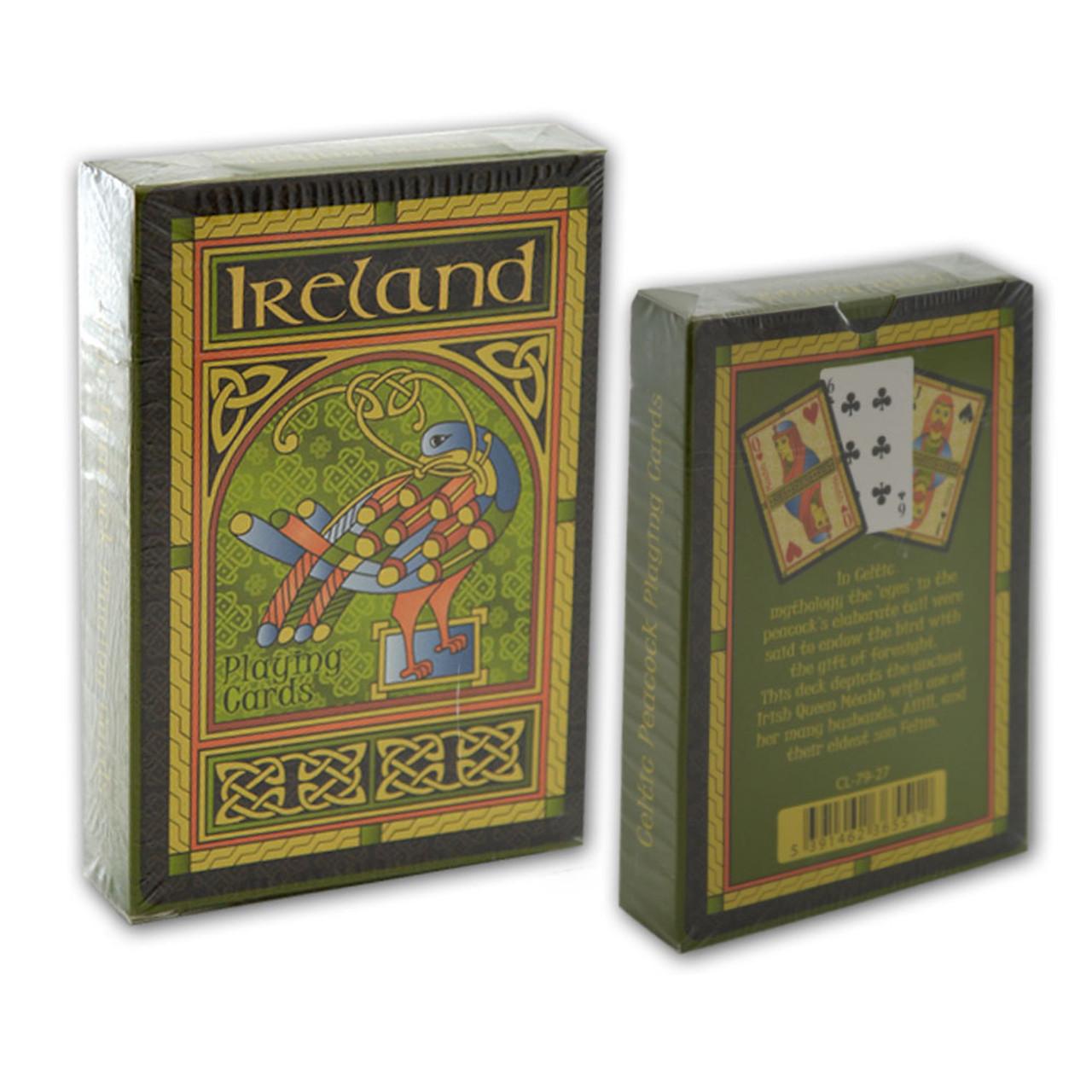 Irish Playing Cards in 3 Styles