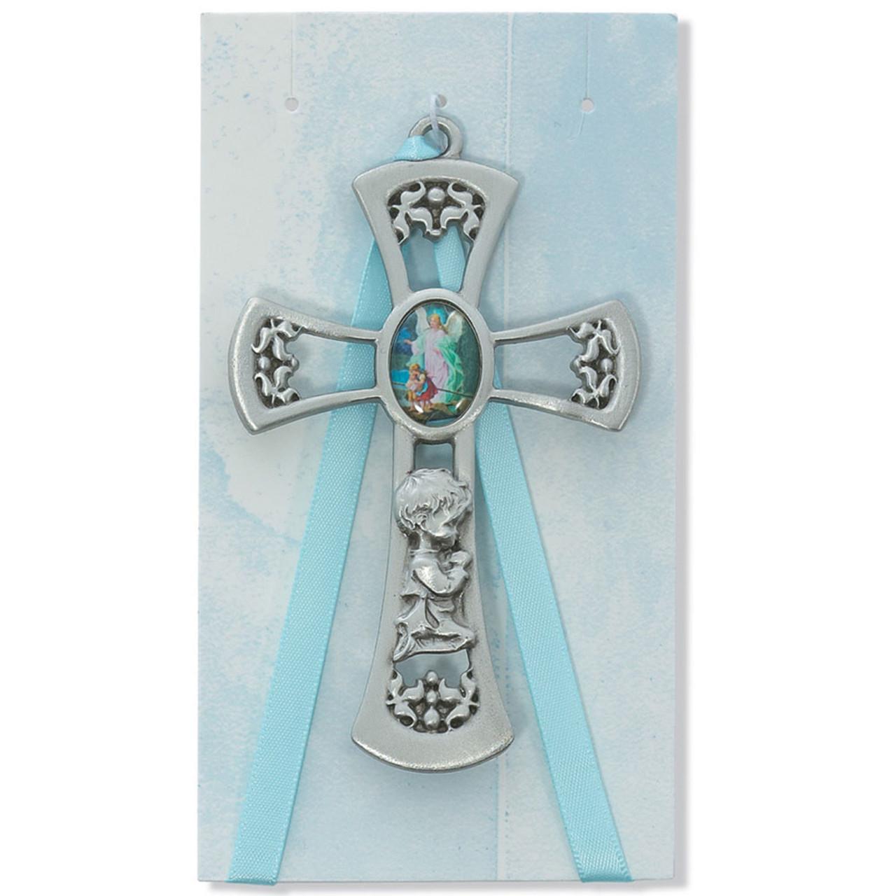 Blue Boy Crib Cross