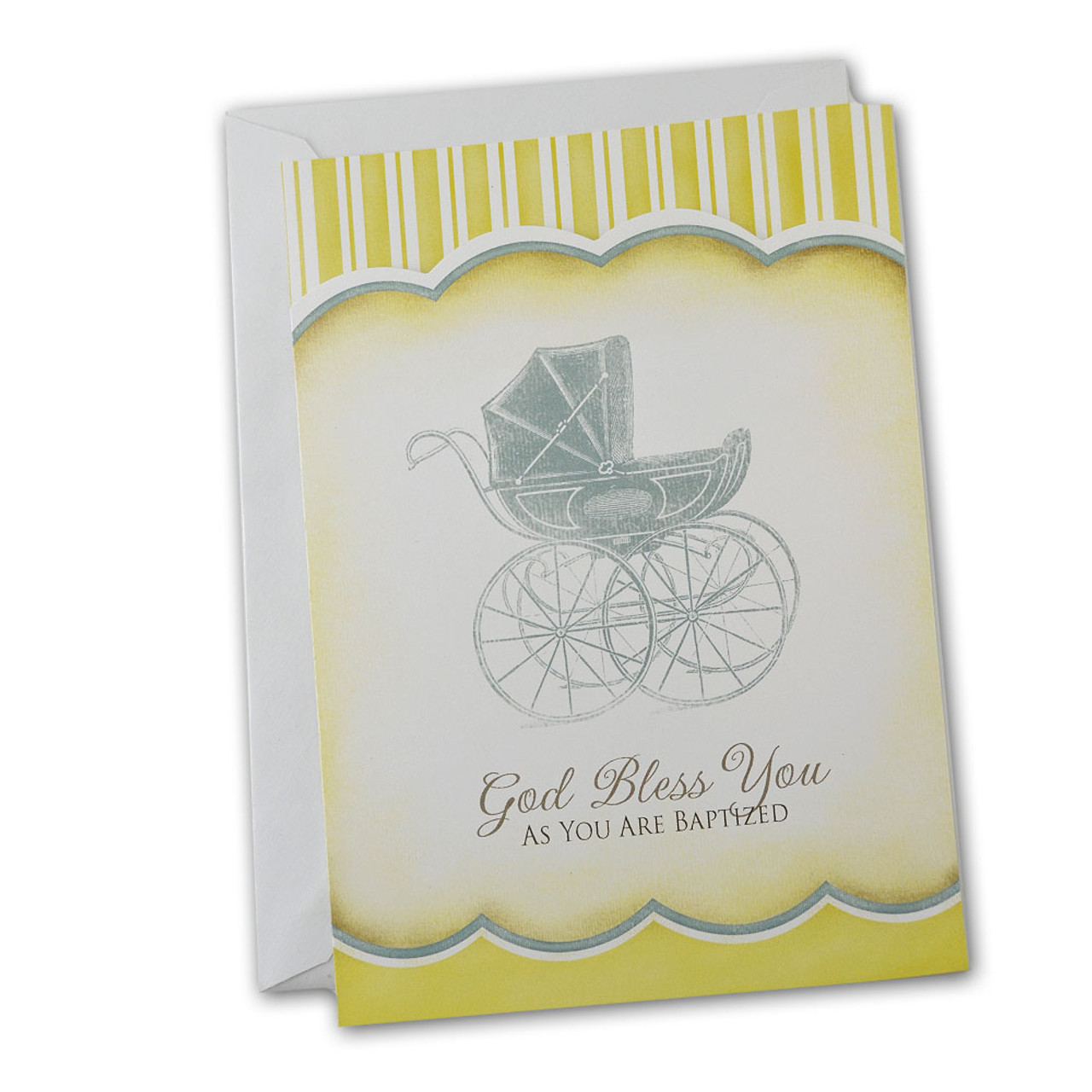 Girl or Boy Baby Baptism Card from Abbey Press