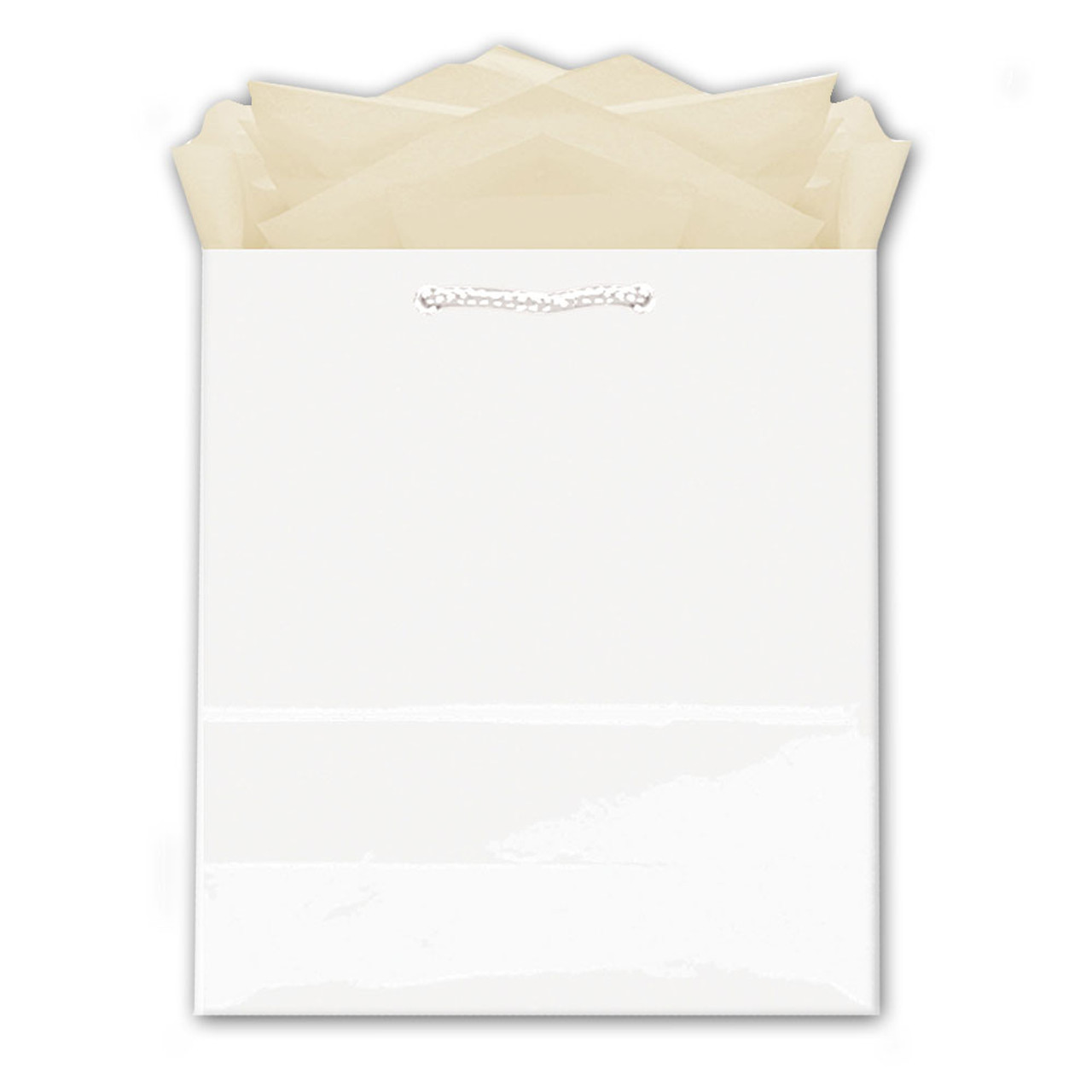 Medium White Gift Bag
