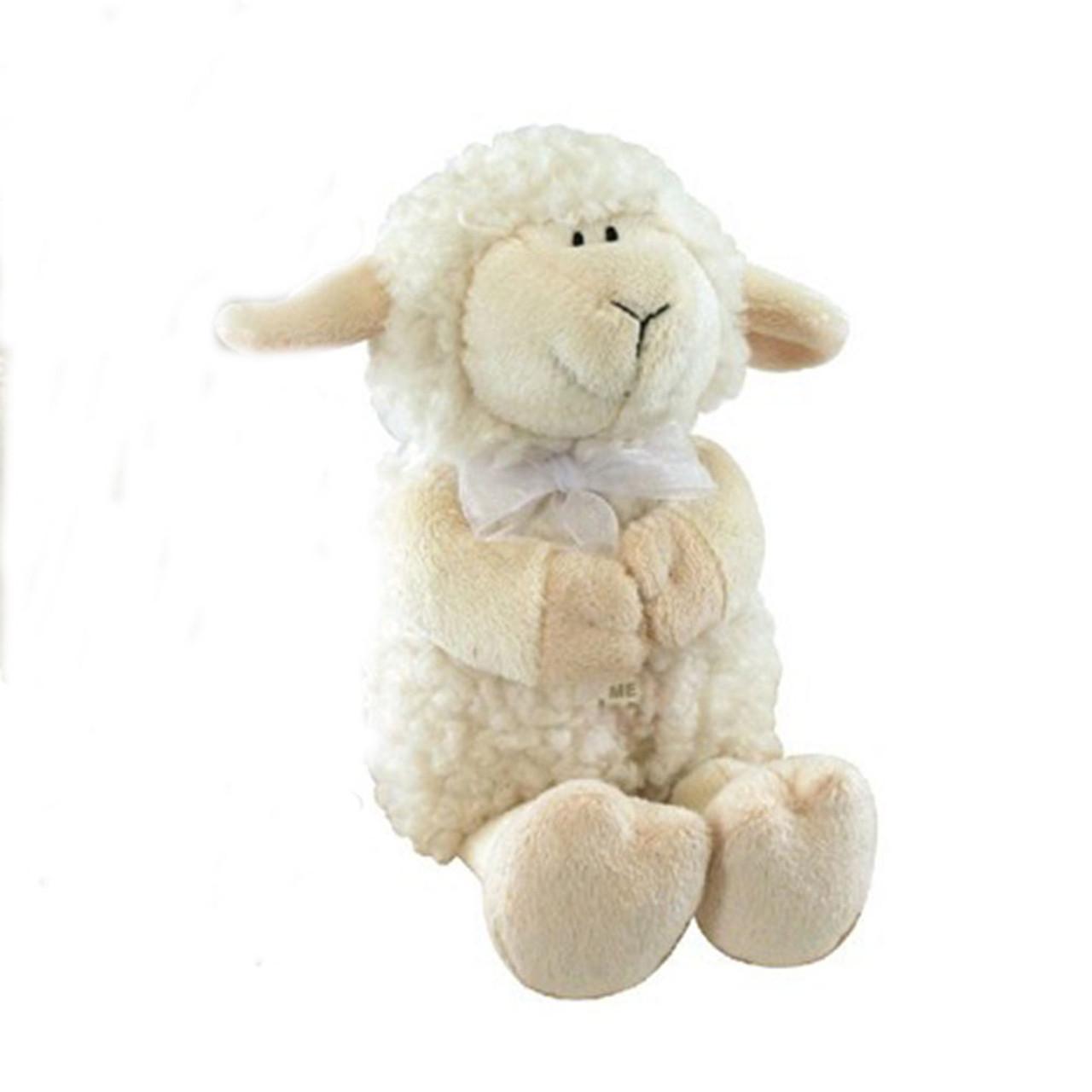 Praying Lamb Plays Jesus Loves Me