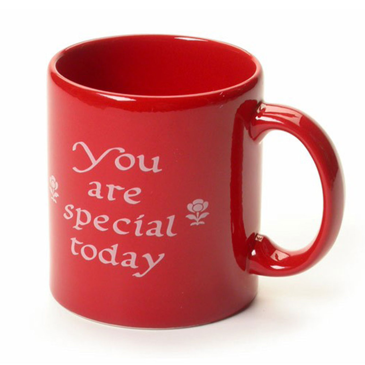 'You Are Special Today' Red Mug