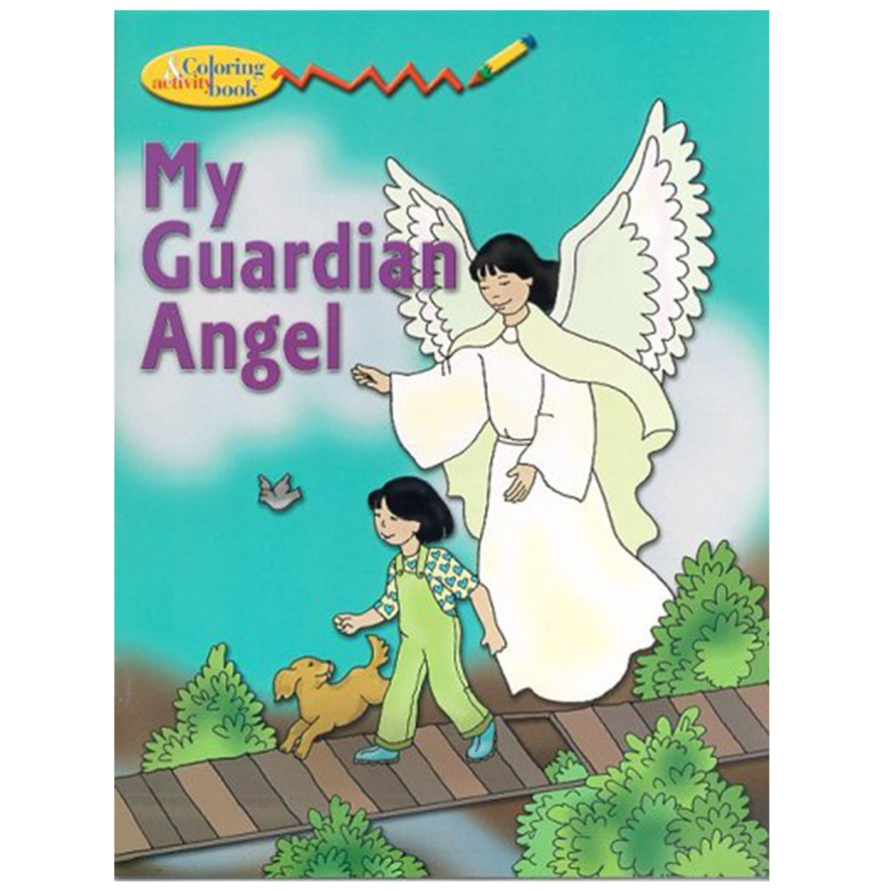 My Guardian Angel Coloring And Activity Book