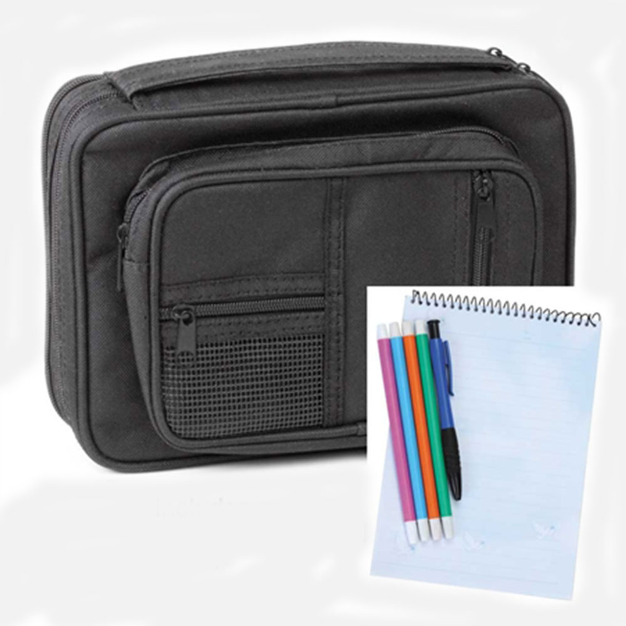 Large Canvas Bible Cover & Organizer