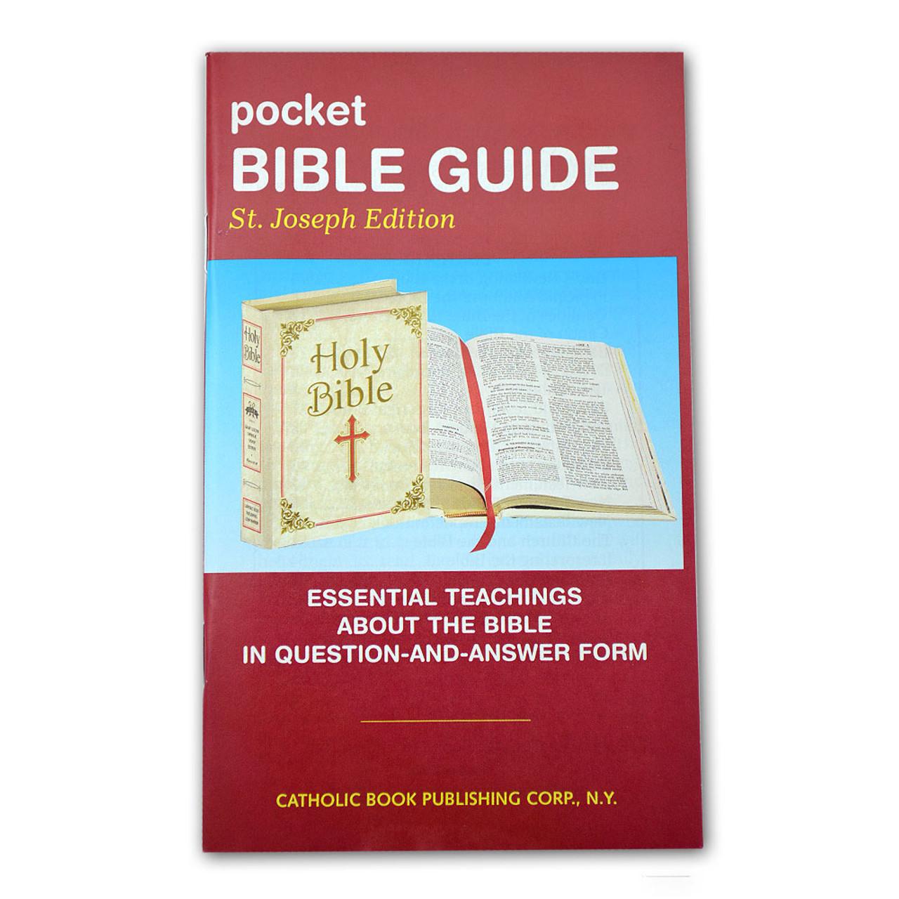 Pocket Bible Guide St. Joseph Edition