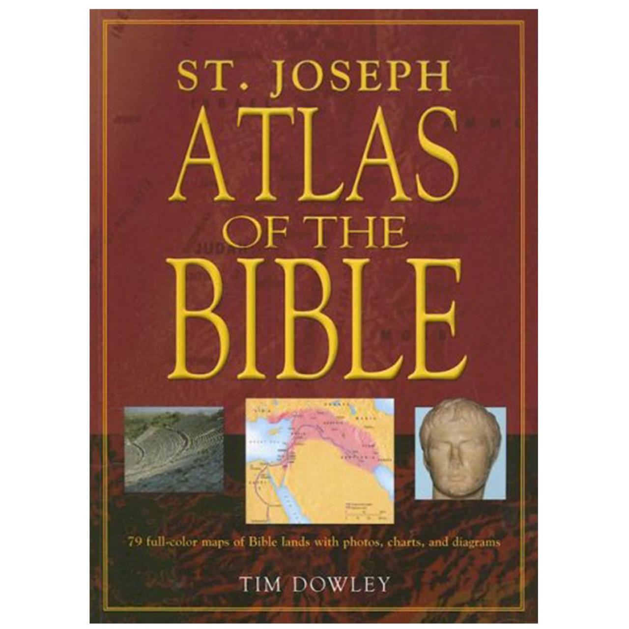 St. Joseph Atlas of the Bible Dowley, Tim