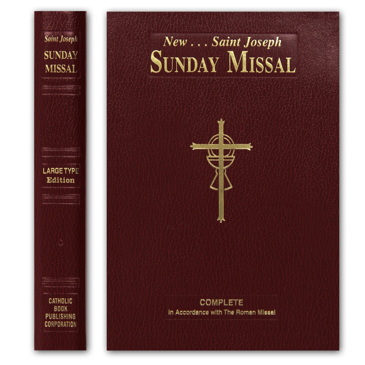 St Joseph Sunday Missal Giant Type Edition