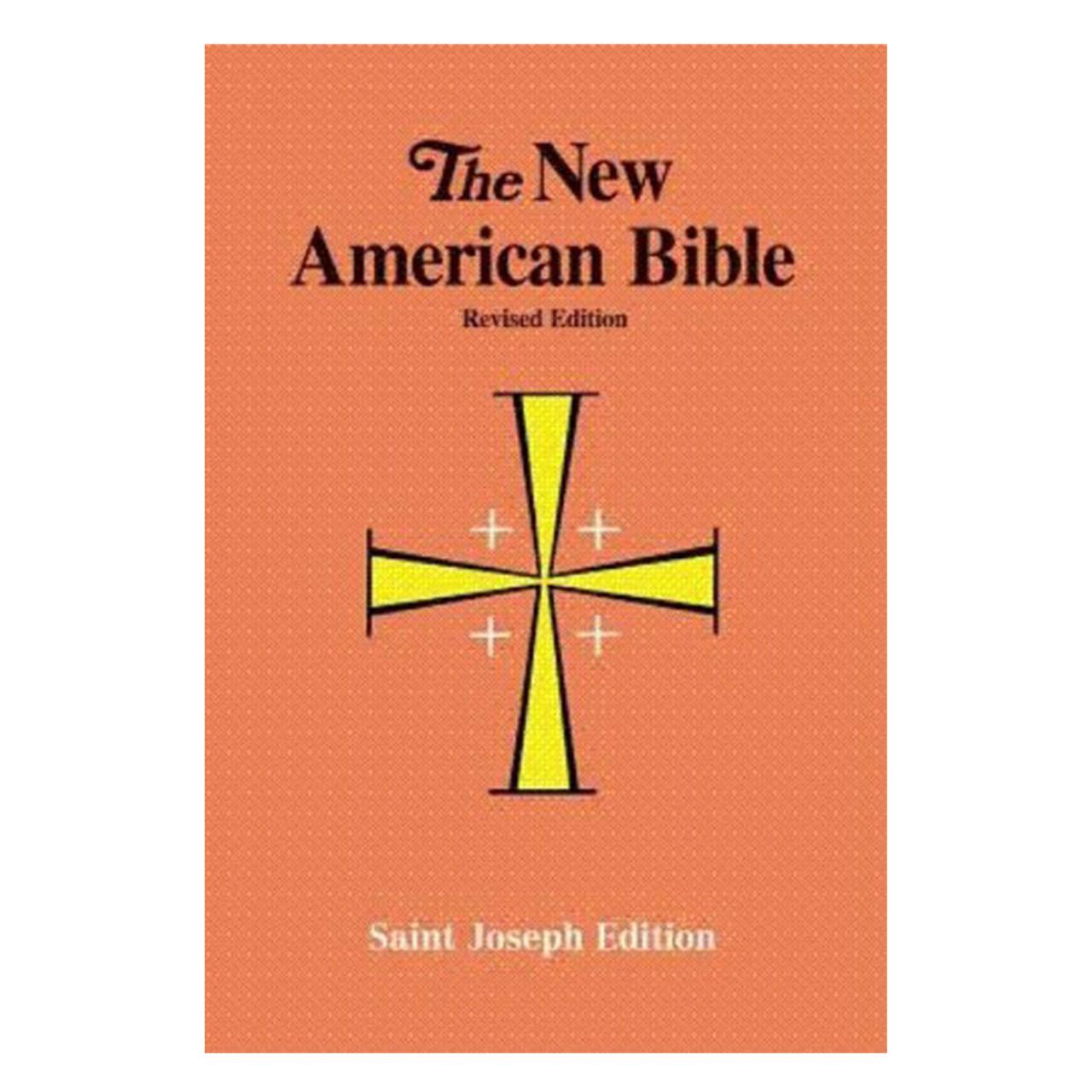 NAB Bible Large Print Paperback