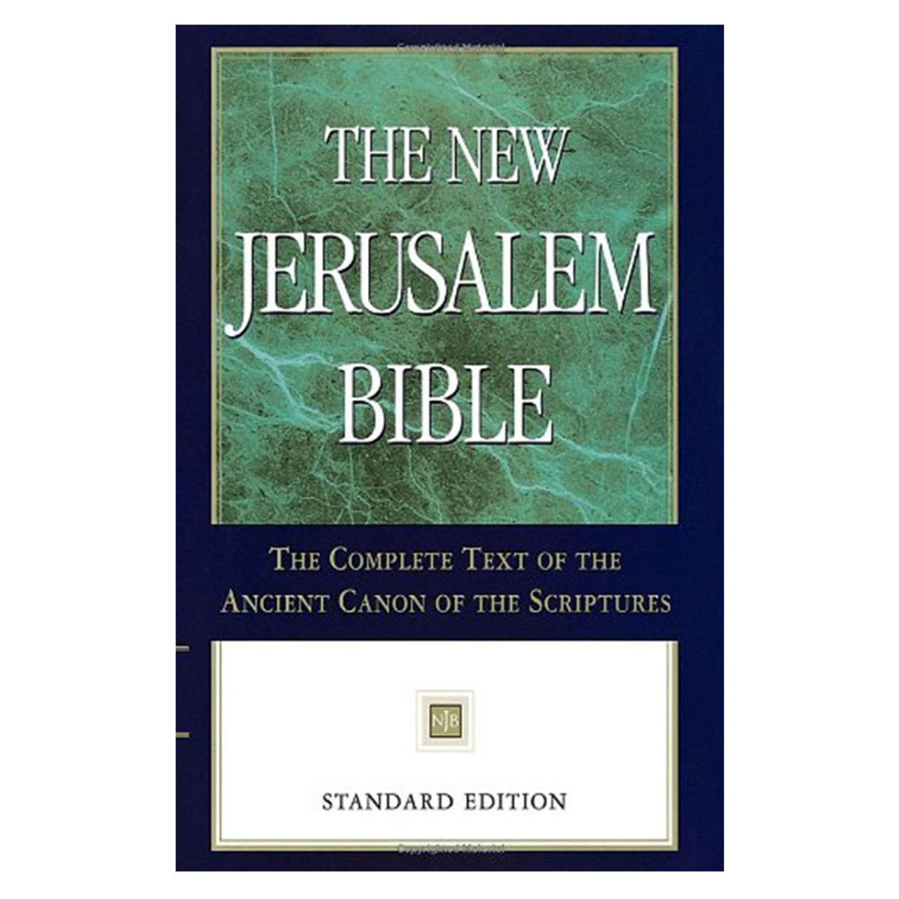 NJB Bible Standard Edition Hardcover