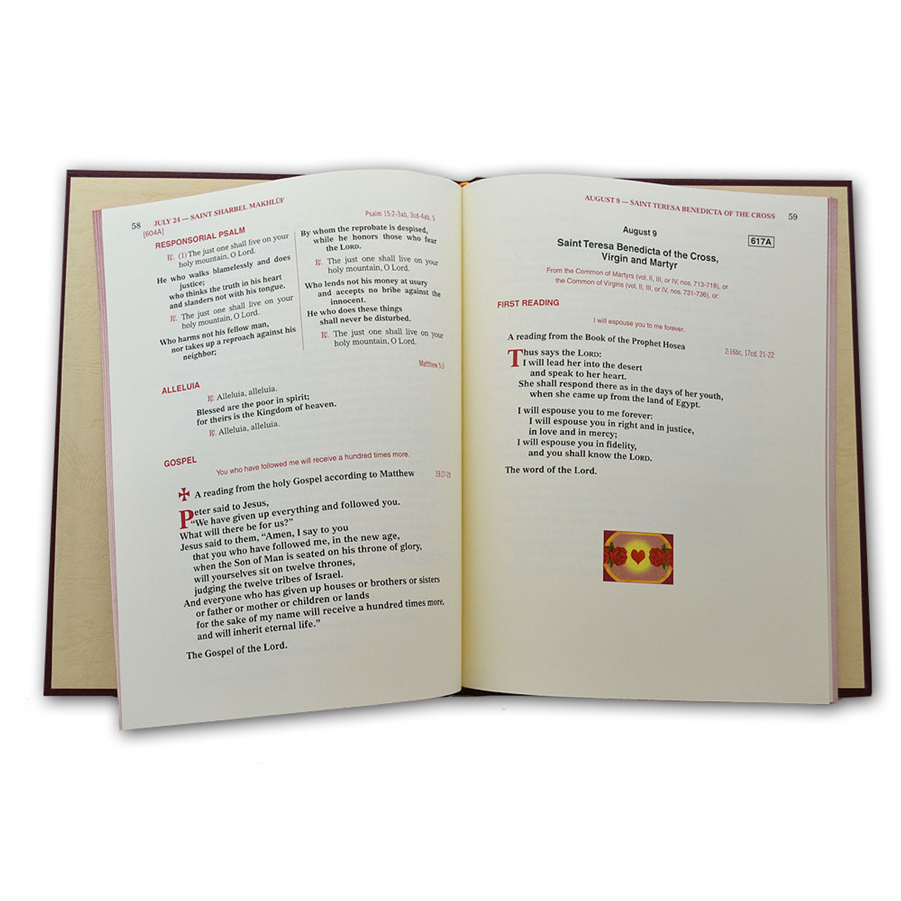 Supplement to Lectionary for Mass