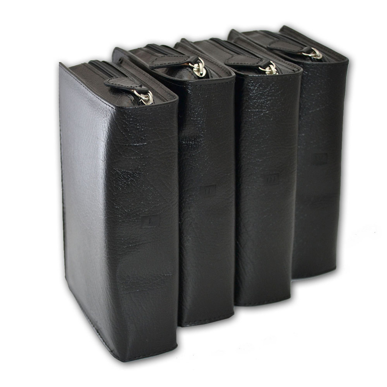 Liturgy of the Hours Cases Black Set of 4