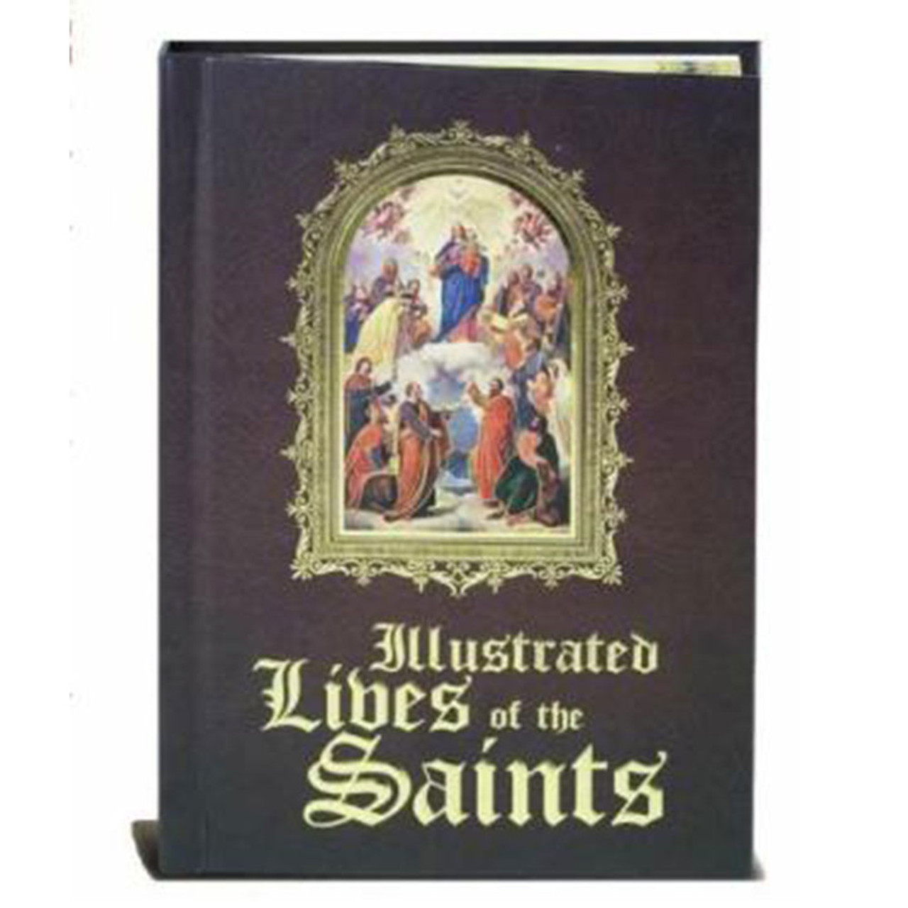 Illustrated Lives of the Saints Book
