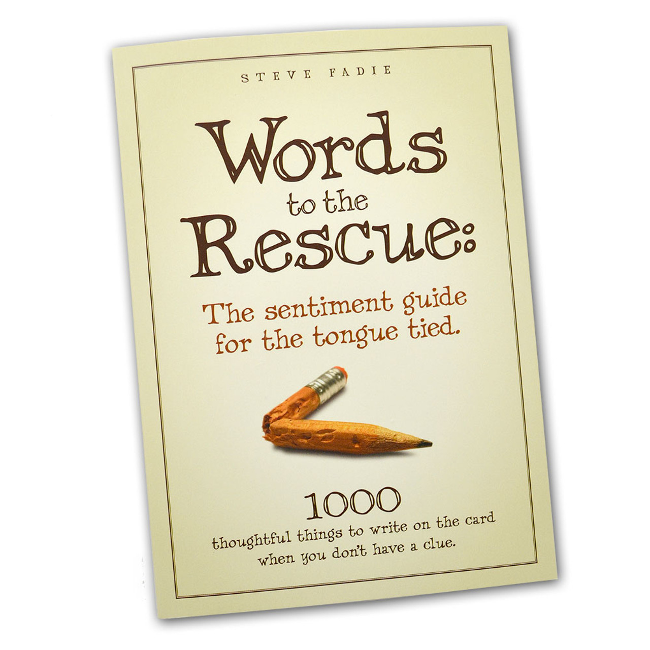 Words to the Rescue  Steve Fadie Paperback