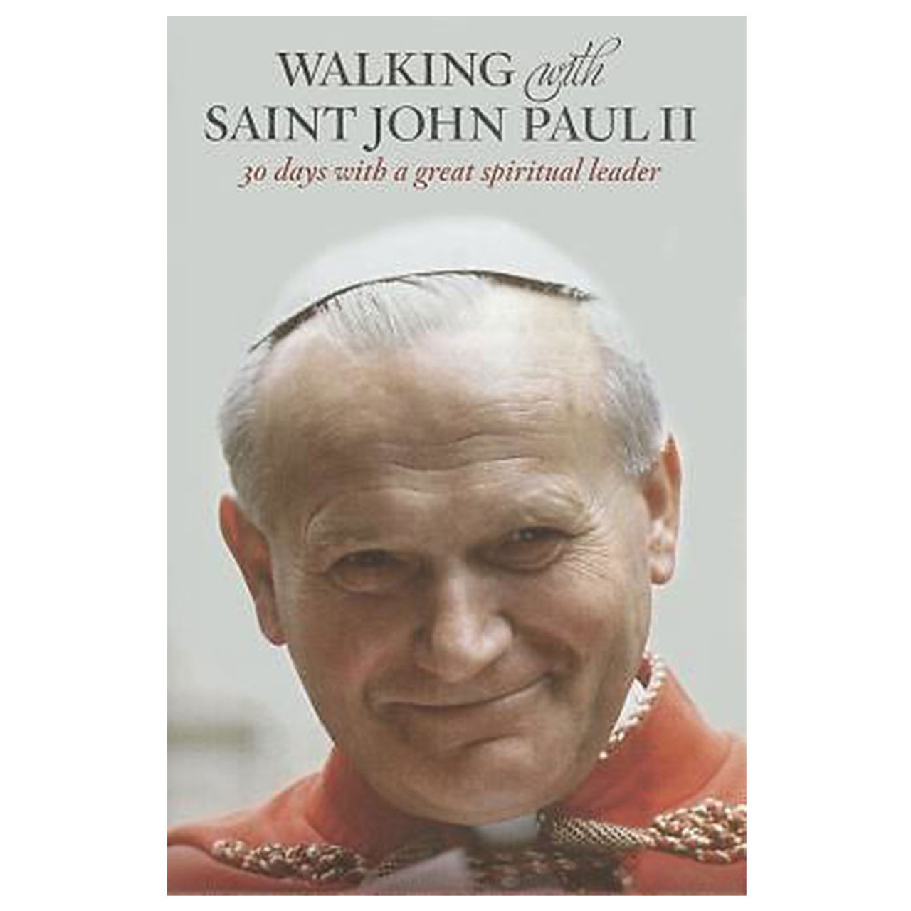 Walking With Saint John Paul II Booklet