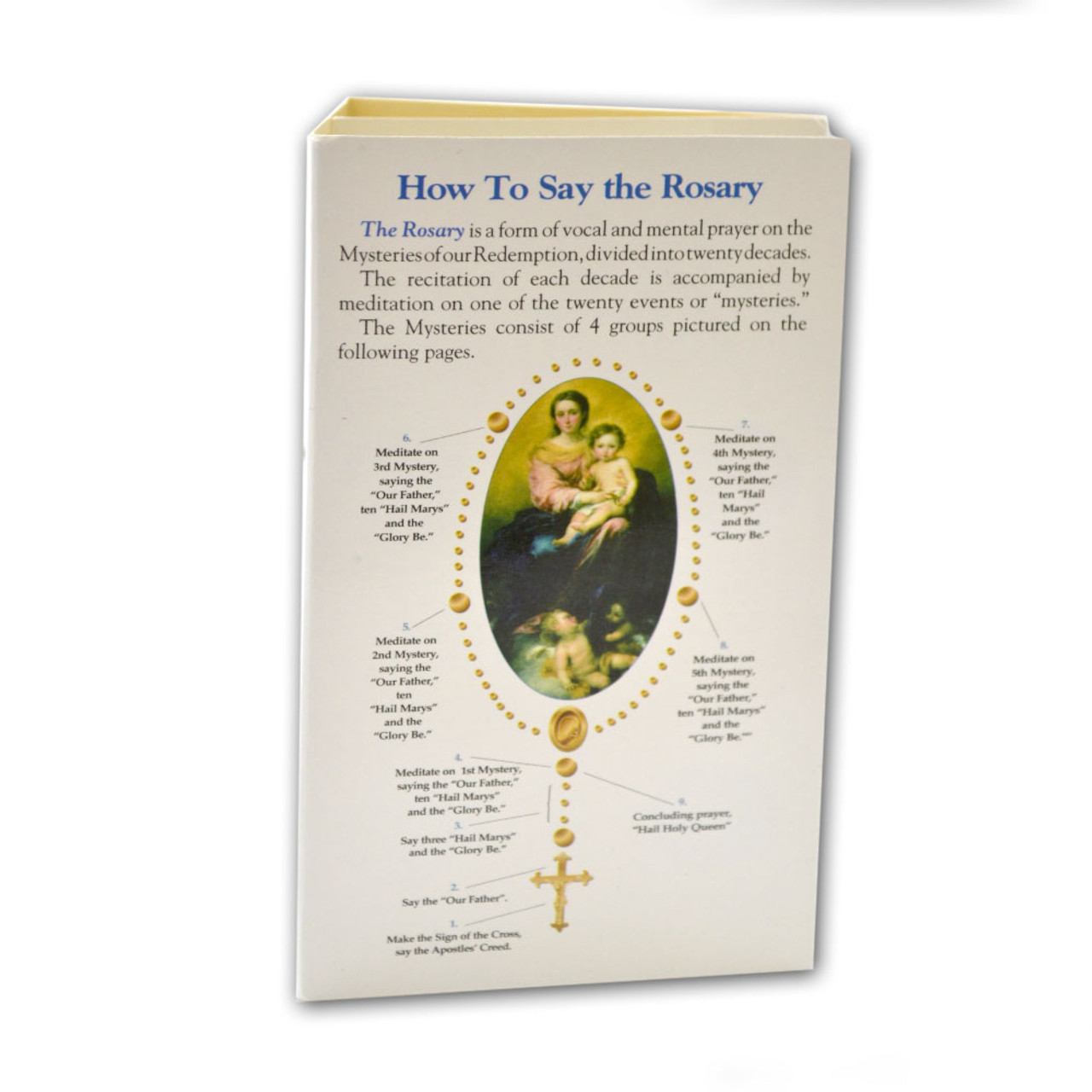 How To Say the Rosary 8-page Pamphlet
