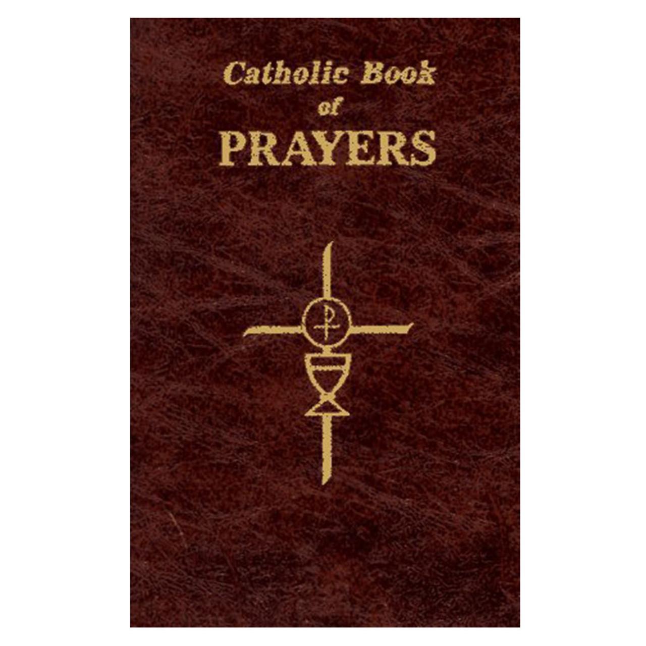 Large Print Catholic Book of Prayers