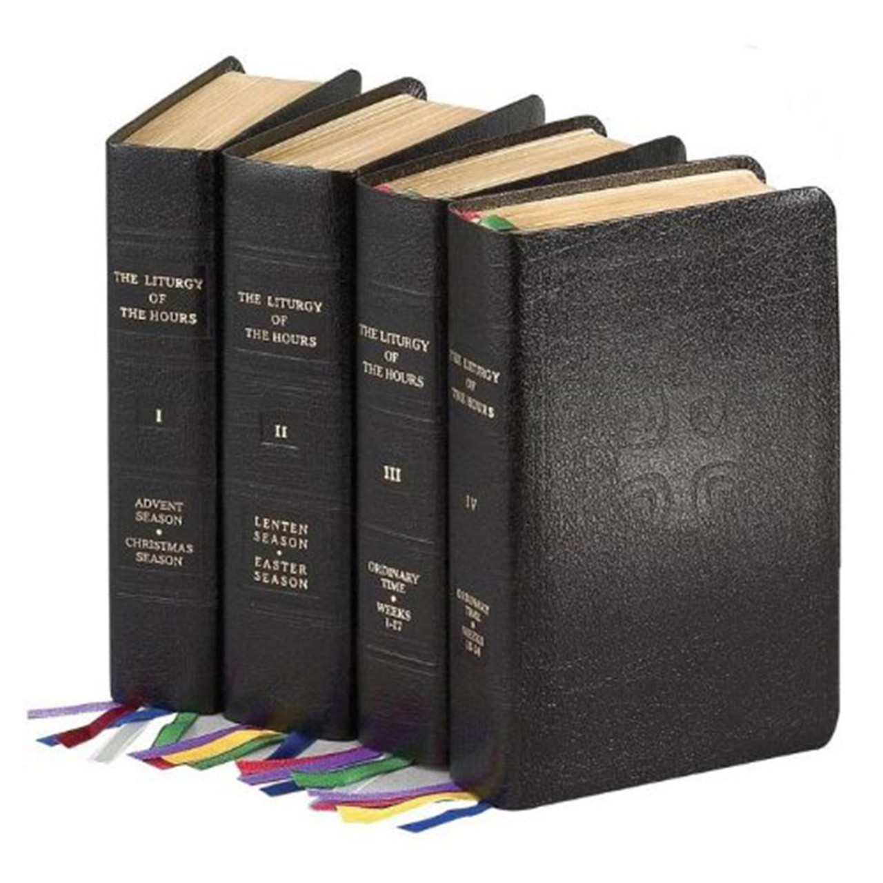 Official Liturgy of the Hours 4 Vol Set Bound in Bonded Leather