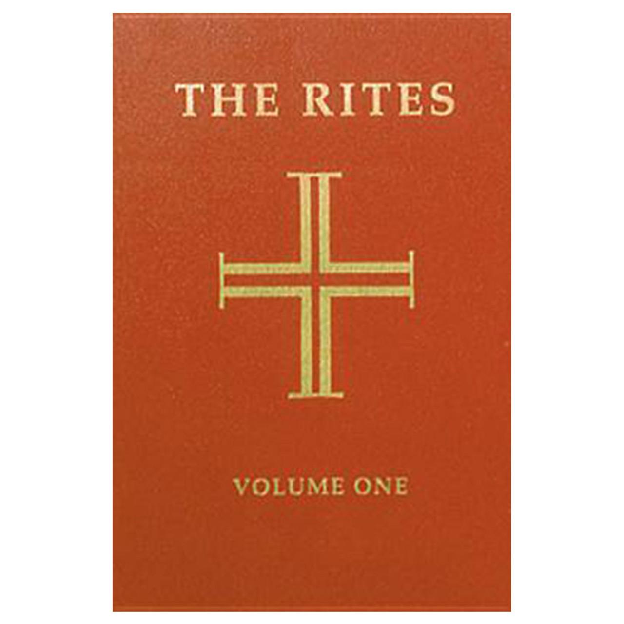 Rites Volume 1 Revised Paperback