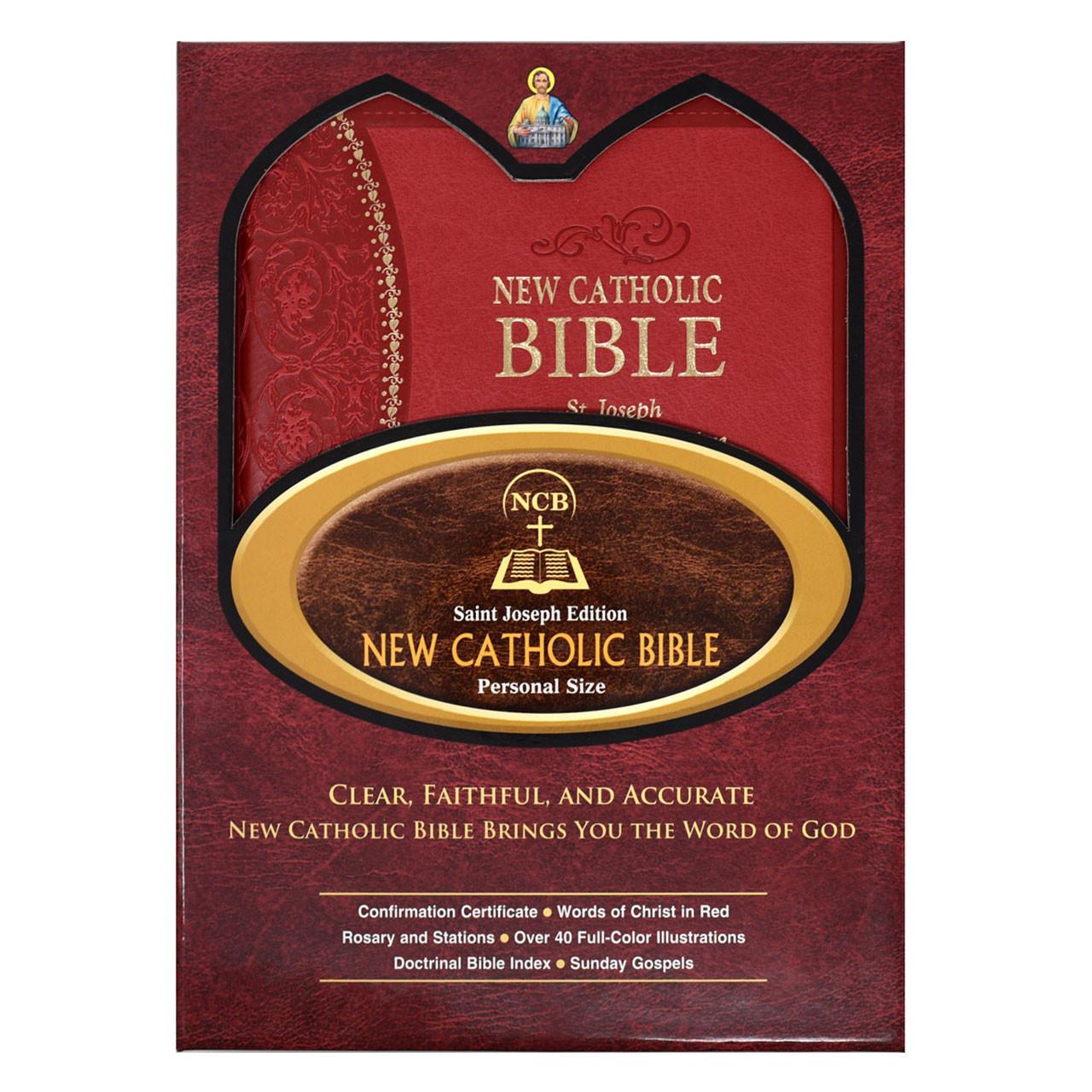 Gift Box of the St. Joseph Confirmation New Catholic Bible