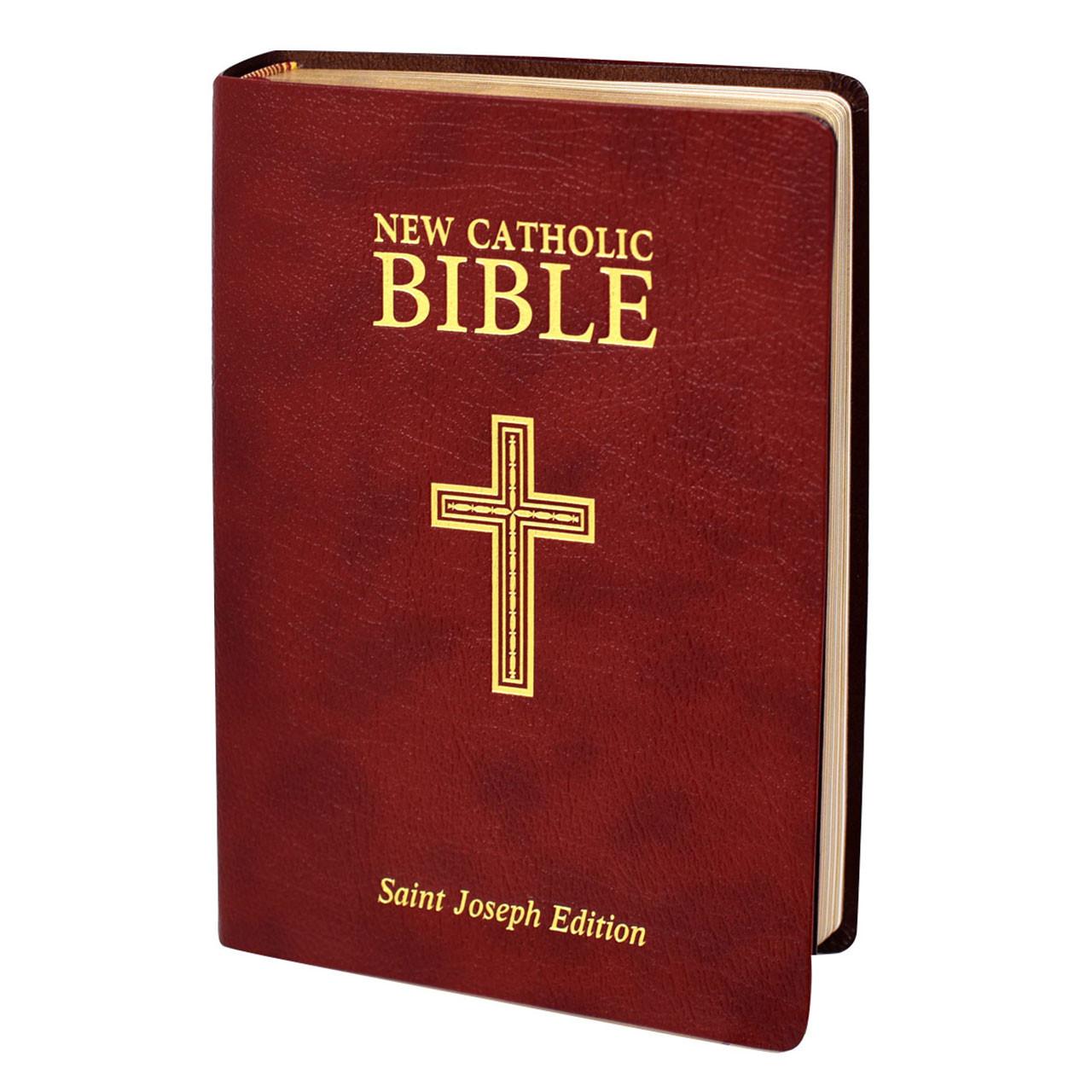 Bonded Leather St. Joseph New Catholic Bible