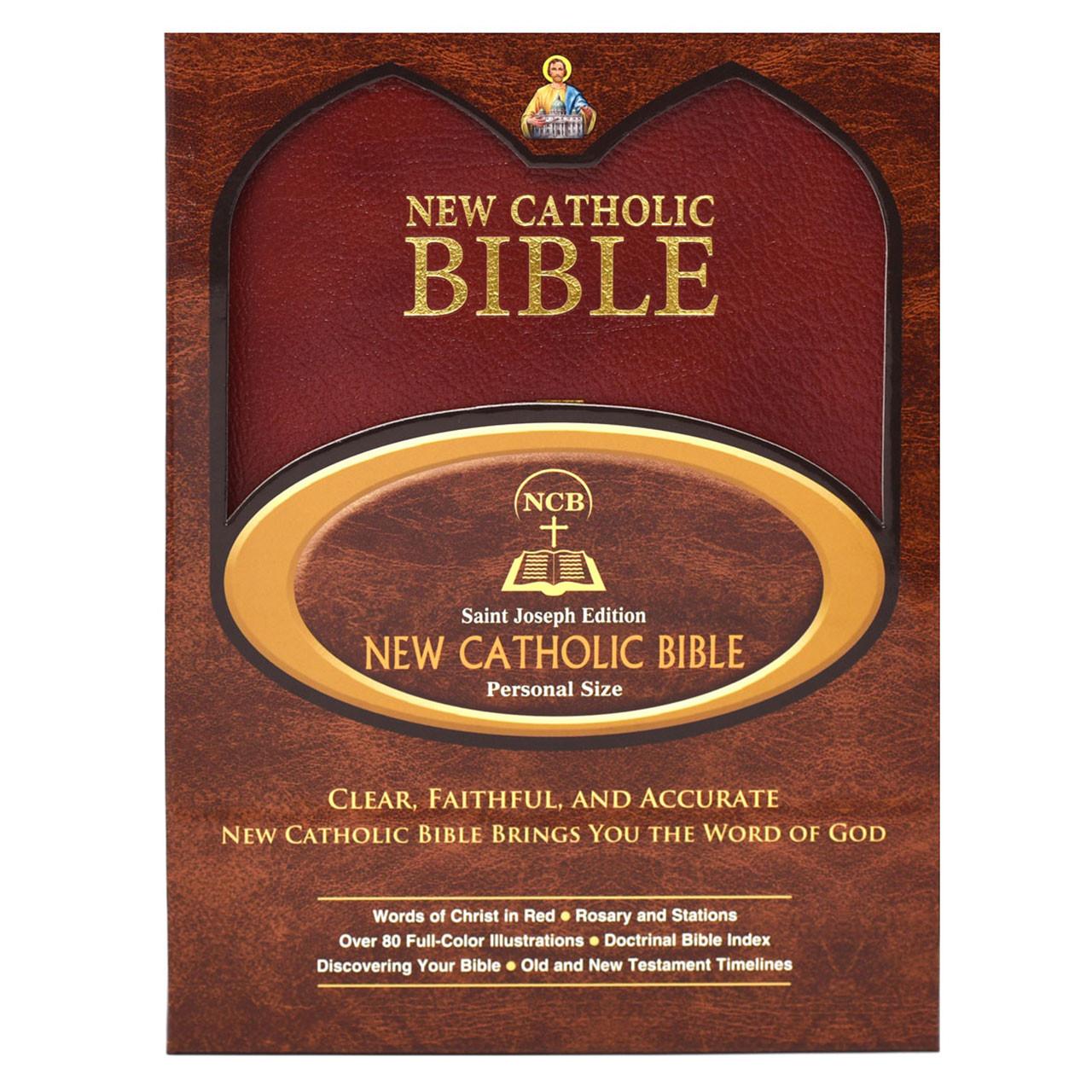 Box for Bonded Leather St. Joseph New Catholic Bible