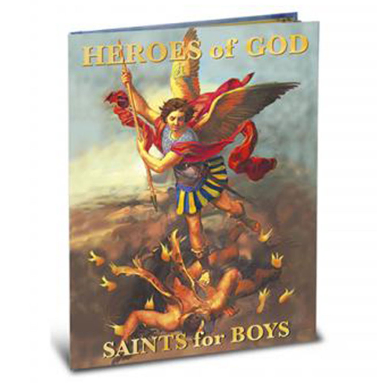 Book of Heroes of God for Boys