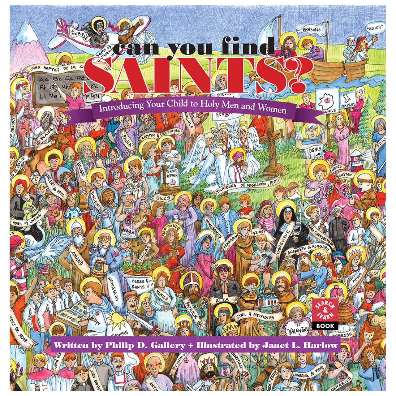 Can You Find Saints? Introducing Child to Saints