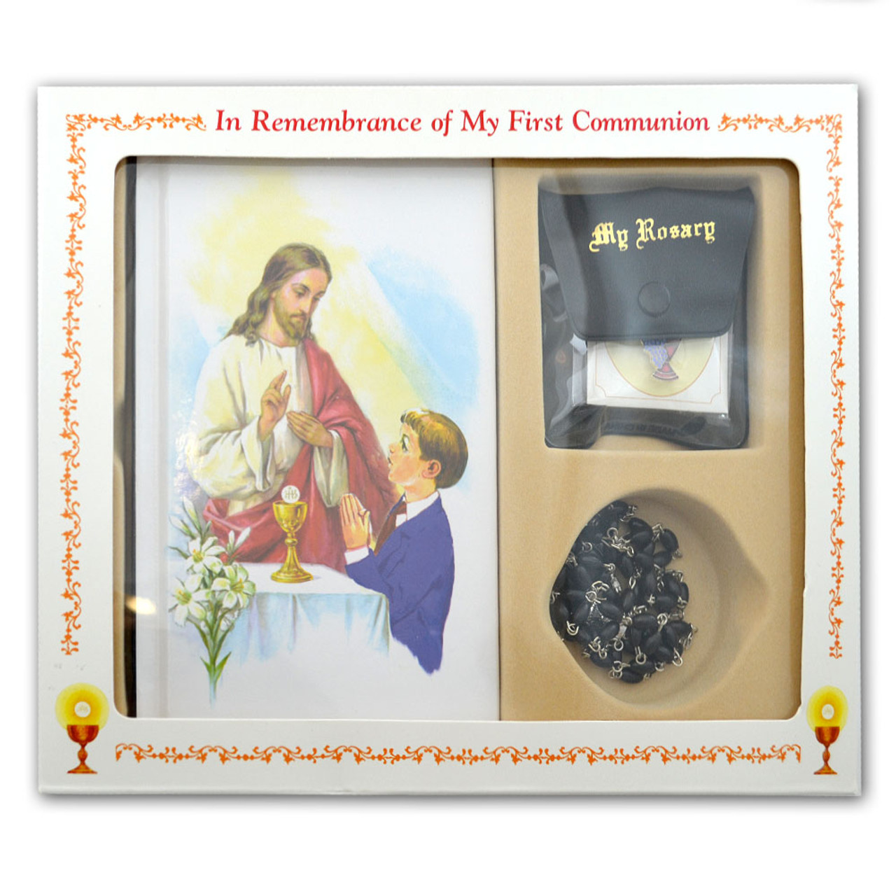 Boy's Classic First Communion Missal Set