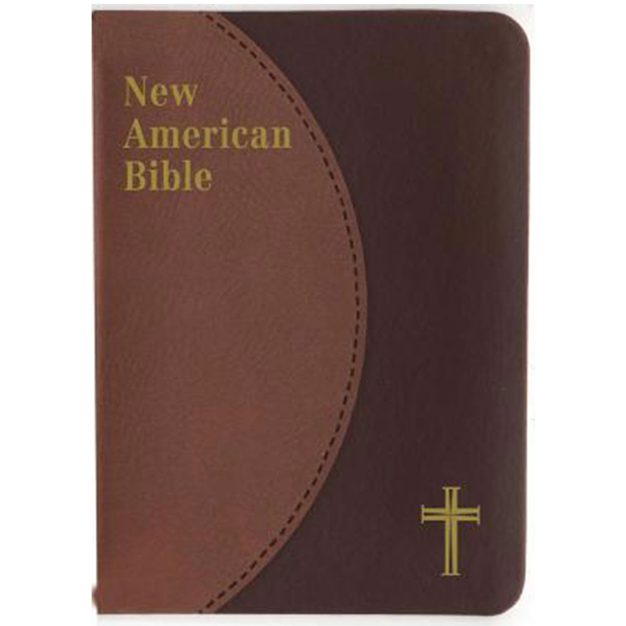 St Joseph New American Bible Brown Cover