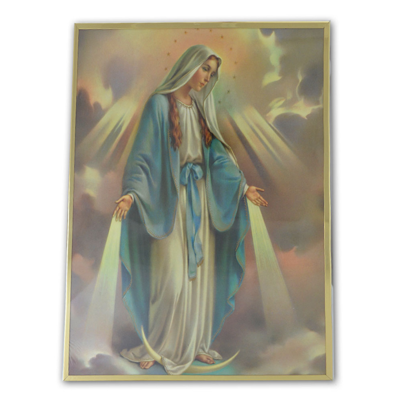 Our Lady of Grace Laminated Print