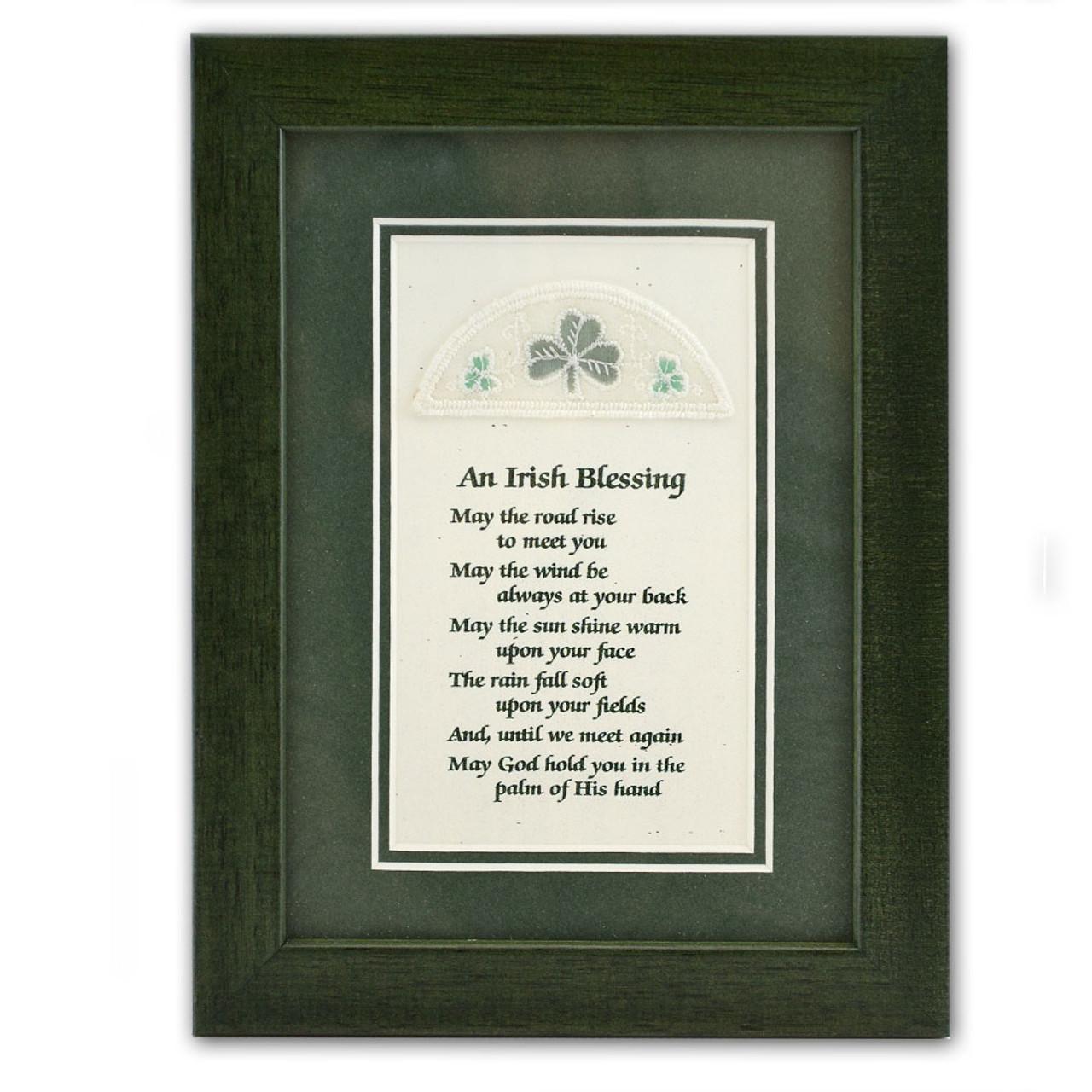 Framed Print - Irish Blessing
