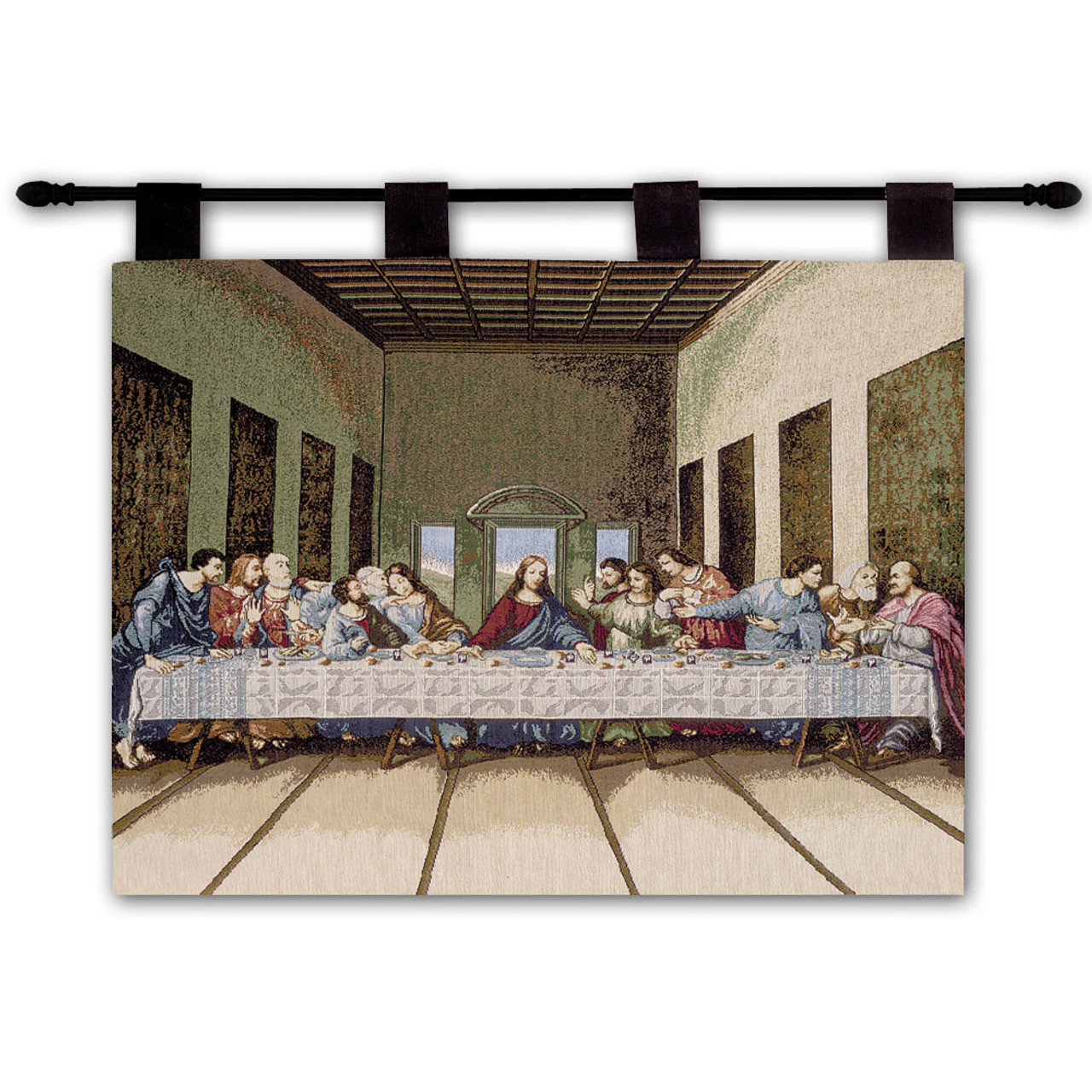 Last Supper Tapestry by Da Vinci Wall Hanging