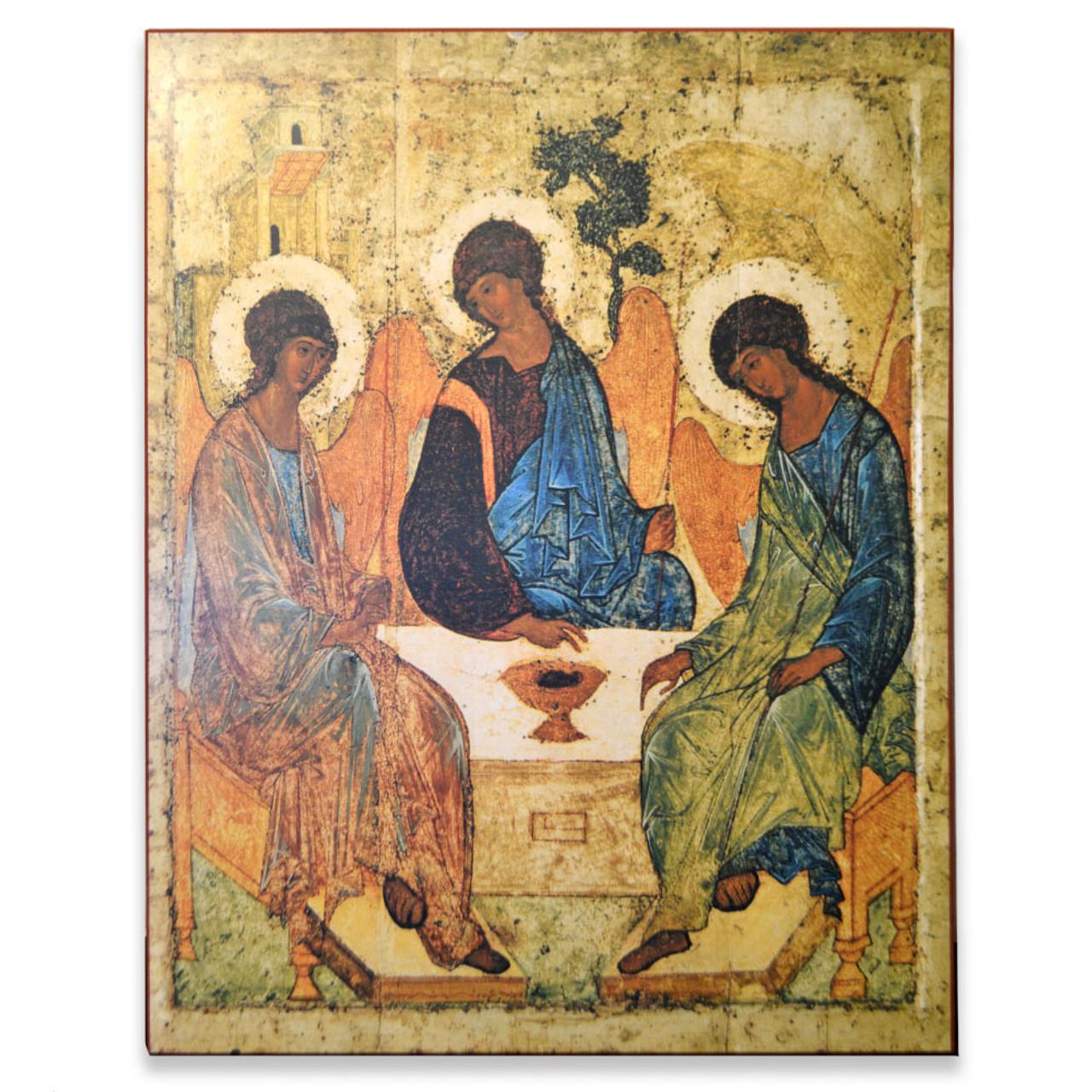 Holy Trinity Icon 19 x 24