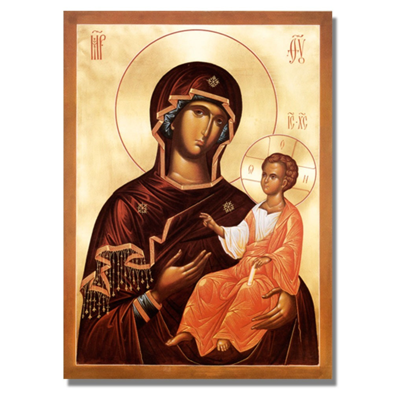 Most Holy Mother of God Icon 8 x 10