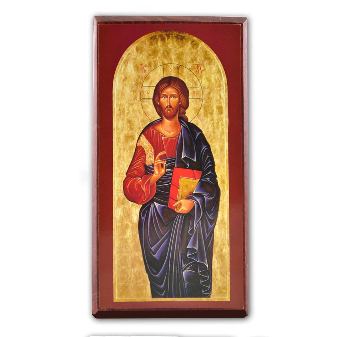Christ the Teacher Icon 4 X 7.5