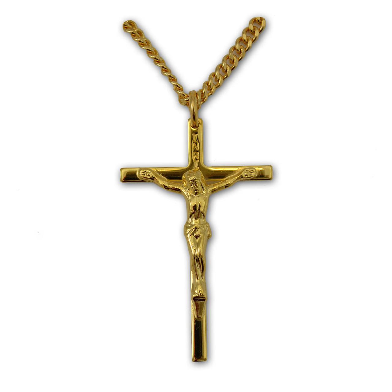 Classic Large Cruicifix Necklace