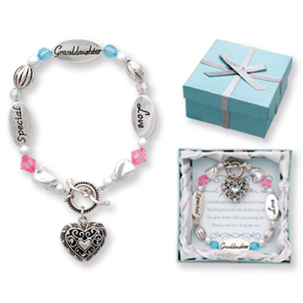 Granddaughter Charm Bracelet