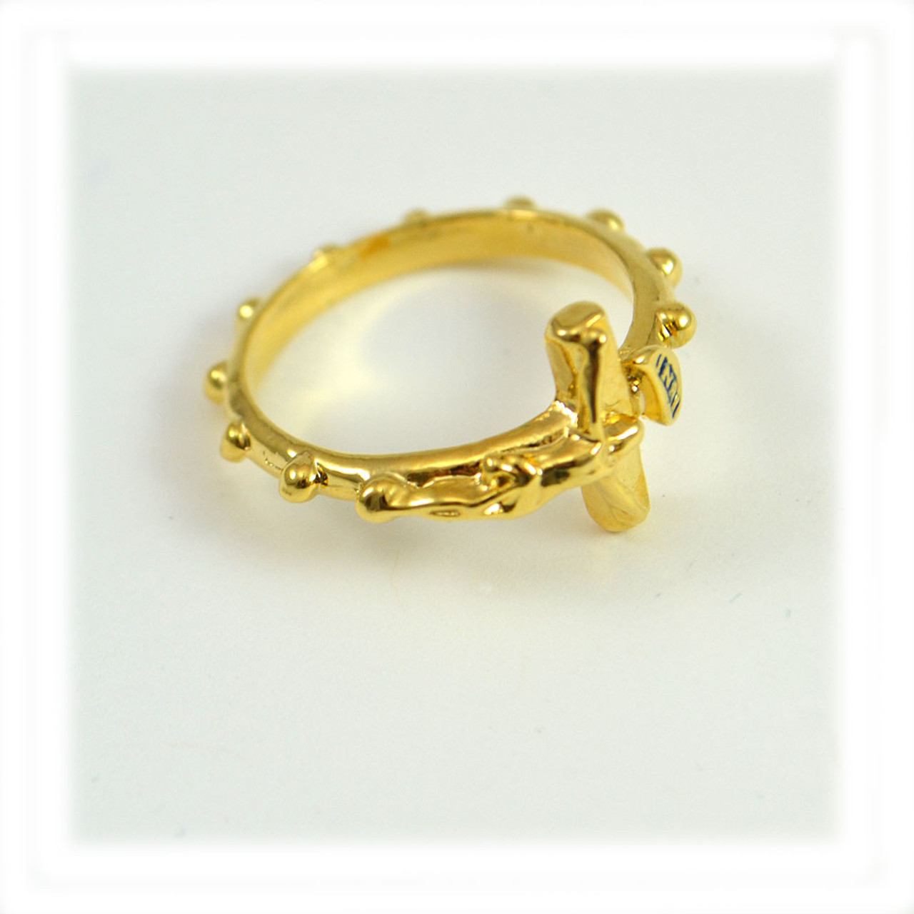 Crucifix Ring