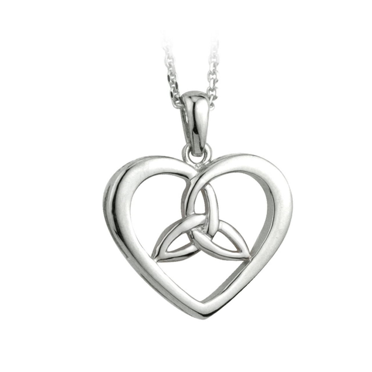 Celtic Love Knot Pendant Sterling Silver