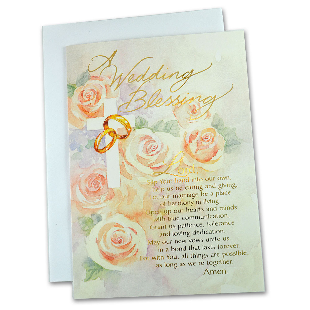 """""""A Wedding Blessing"""" Card by Abbey Press"""