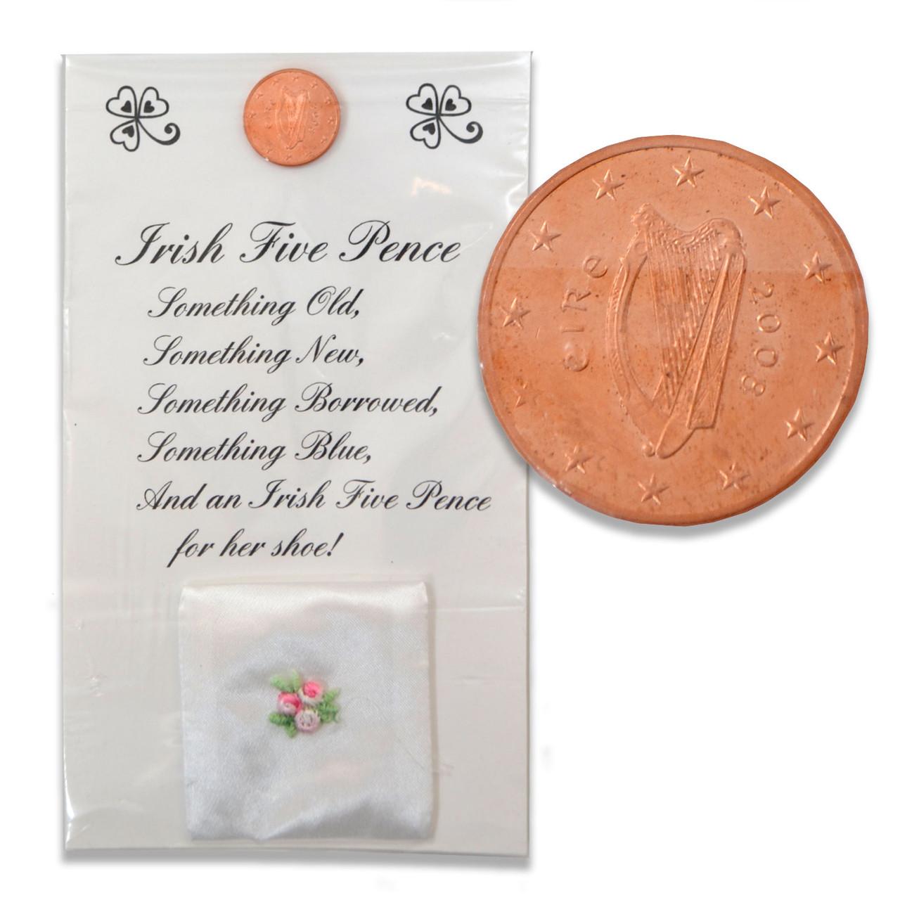 """Five Pence"" Irish Wedding Custom Gift Set"