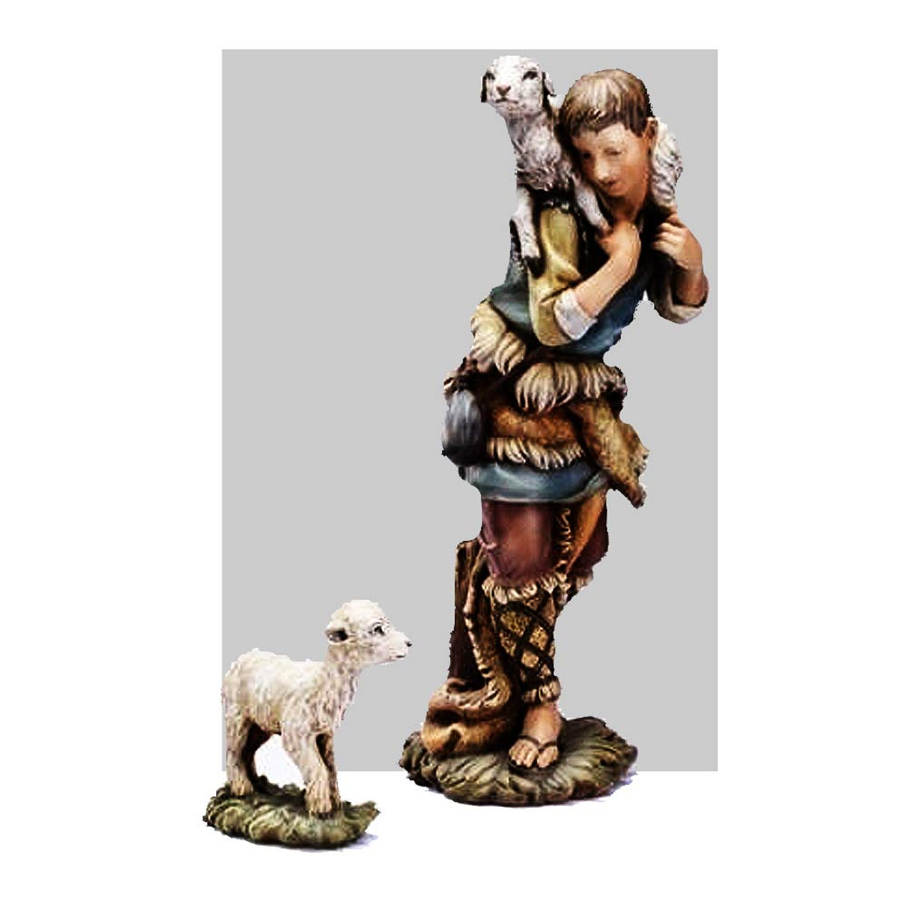Shepherd/Sheep for 27 IN Colored Nativity
