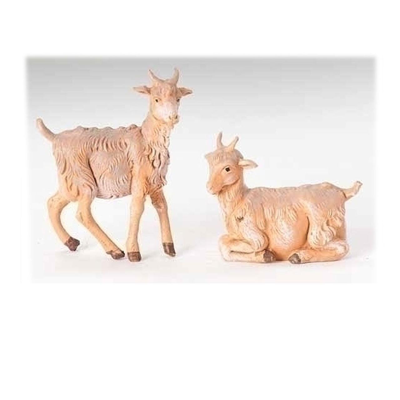 Goats for 5 Inch Fontanini Nativity Set