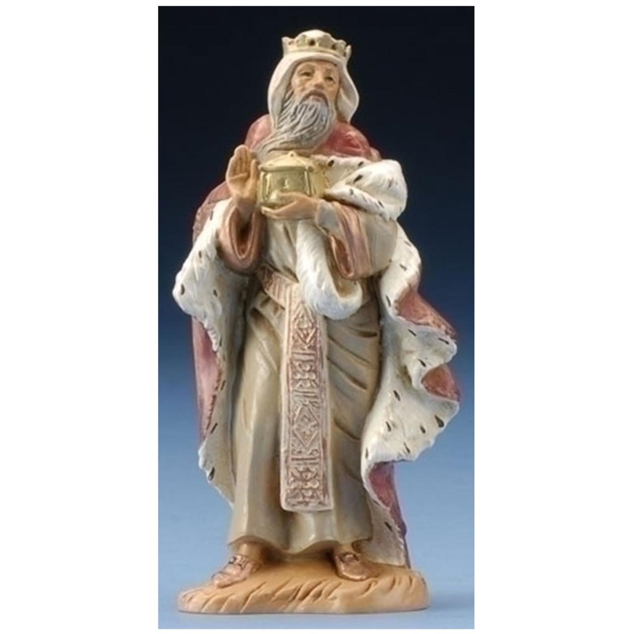 "5"" Fontanini ""King Melchoir"" Nativity Figurine"