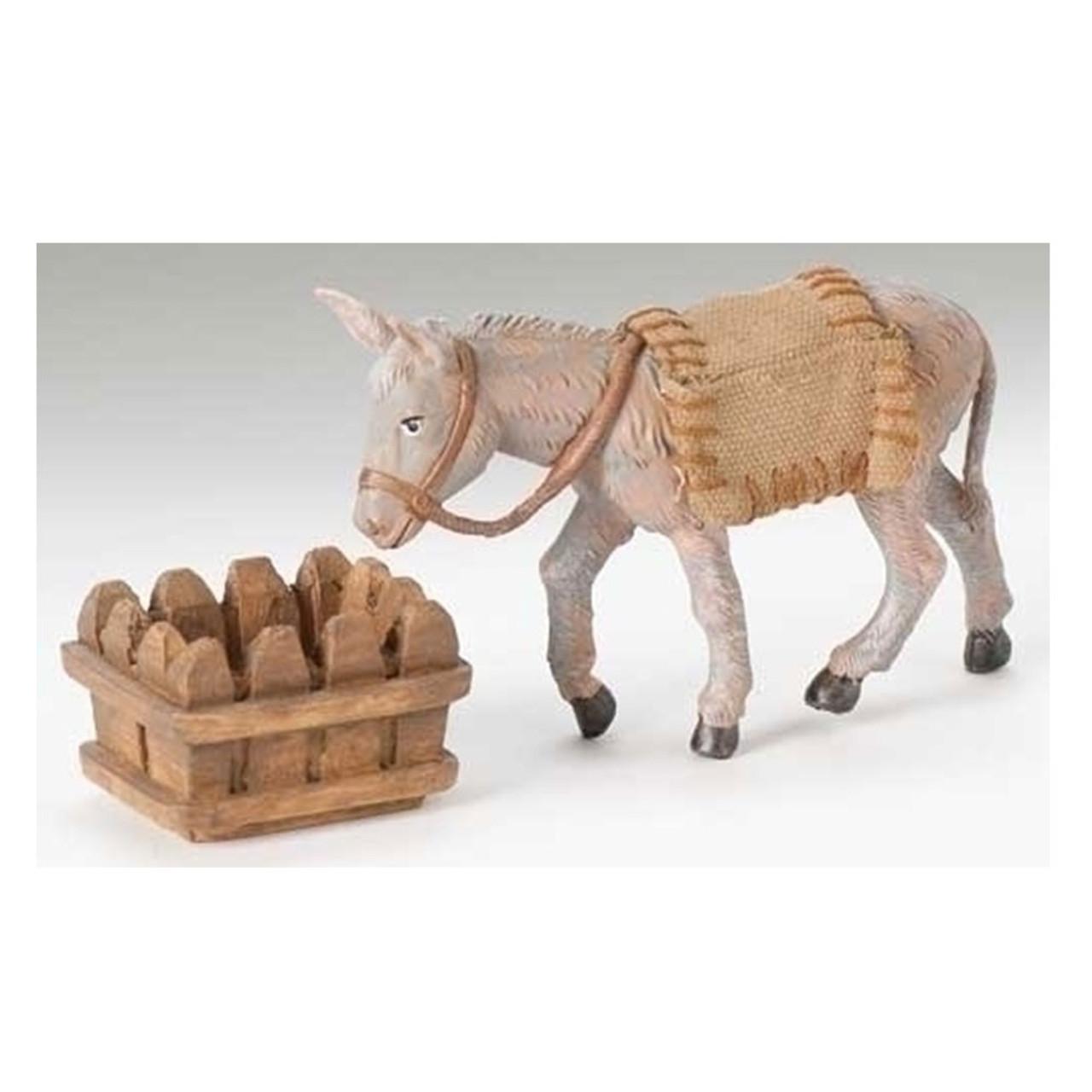 """5"""" Fontanini """"Mary's Donkey"""" Nativity Set Figure"""
